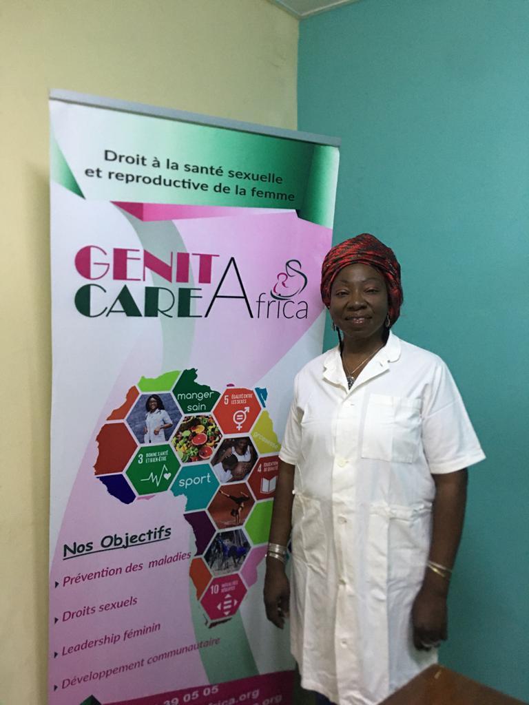 Dr Josiane Ouédraogo, gynécologue obstétricienne, experte en santé sexuelle et reproductive