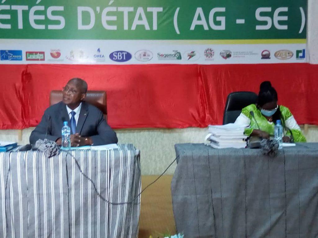 Burkina Faso, Societés d'Etat, 2021