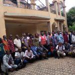 Après l'incendie, le mouvement syndical solidaire du cabinet Farama